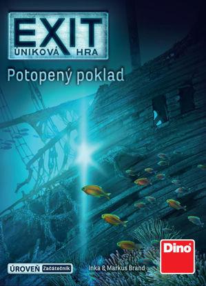 Obrázek ÚNIKOVÁ HRA: POTOPENÝ POKLAD Párty hra