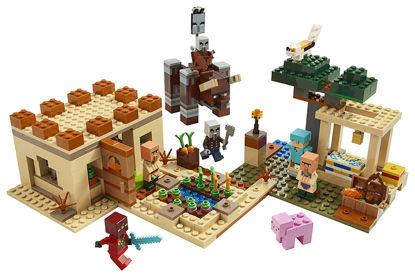 Obrázek LEGO Minecraft 21160 Útok Illagerů