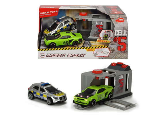 Obrázek z Útěk z vězení, policejní auto + auto Dodge Hellcat Villain