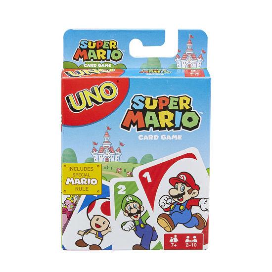 Obrázek z UNO karty SUPER MARIO
