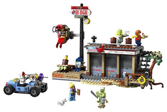 Obrázek z LEGO Hidden Side 70422 Útok na stánek s krevetami
