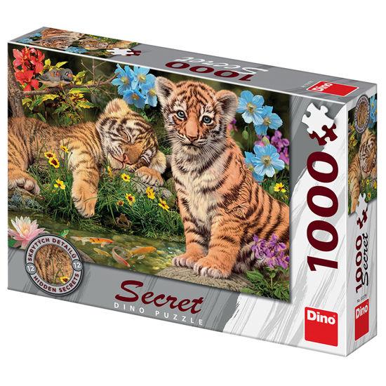 Obrázek z TYGŘÍCI 1000 secret collection Puzzle NOVÉ