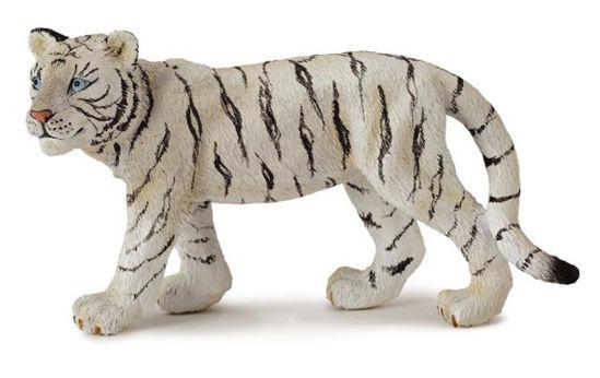 Obrázek z Tygr bílý mládě stojící