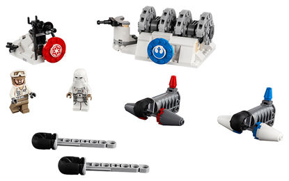 Obrázek LEGO Star Wars 75239 Útok na štítový generátor na planetě Hoth™
