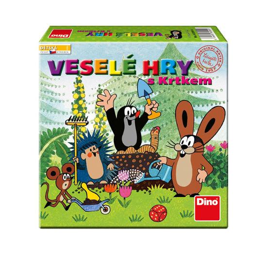 Obrázek z Veselé hry s Krtkem hra dětská