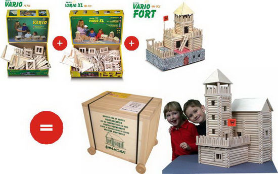 Obrázek z Stavebnice Vario Box 450 dílků