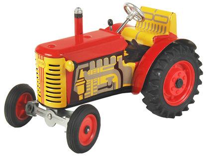 Obrázek Traktor ZETOR červený - plastové disky