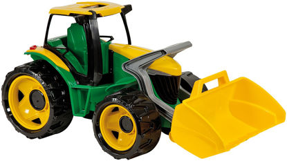 Obrázek Dětský traktor se lžící zelenožlutý