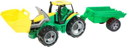 Obrázek Dětský traktor se lžící a přívěsem