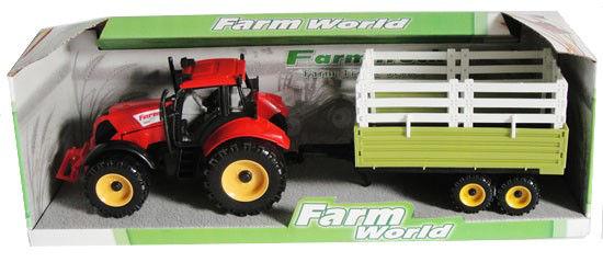 Obrázek z Traktor s valníkem