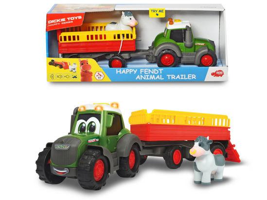Obrázek z Traktor Happy Fendt s přívěsem