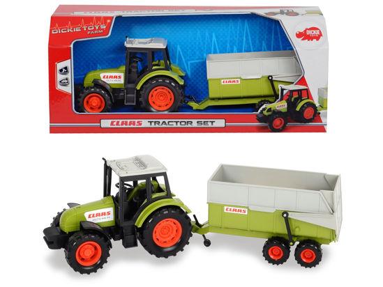 Obrázek z Traktor CLAAS s přívěsem 36 cm