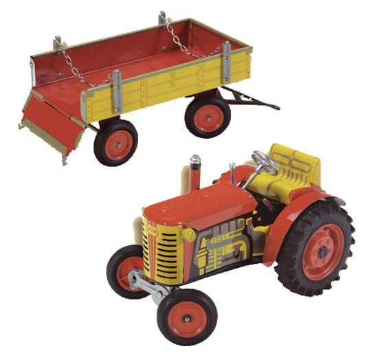 Obrázek z Traktor Zetor s valníkem, plastová kola