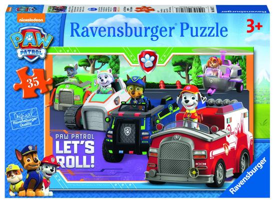 Obrázek z Puzzle Tlapková Patrola  35 dílků