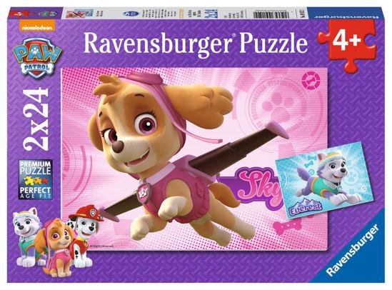 Obrázek z Puzzle Tlapková Patrola; 2x24 dílků