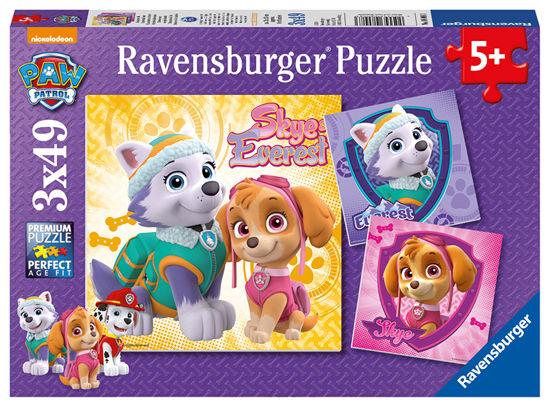 Obrázek z Tlapková Patrola 3x49 dílků puzzle