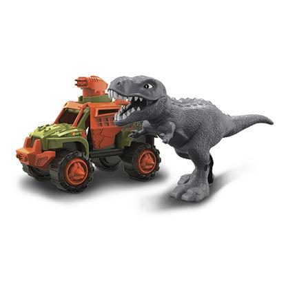 Obrázek Auto truck a dinosaurus