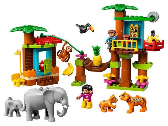Obrázek z LEGO Duplo 10906 Tropický ostrov