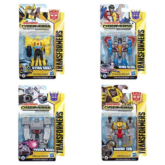 Obrázek z Transformers Cyberverse figurka 3-5 kroků transformace