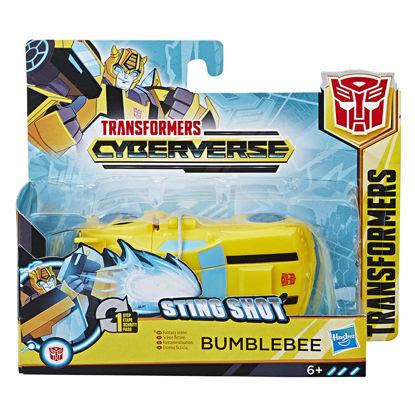 Obrázek Transformers Cyberverse figurka 1 krok transformace