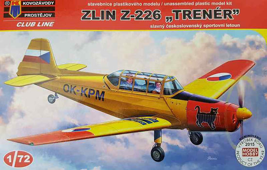 "Obrázek z Stavebnice Z-226 ""Trenér"""