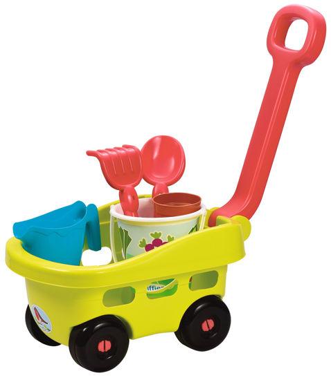 Obrázek z Zahradní vozík s kyblíčkem a přísl.