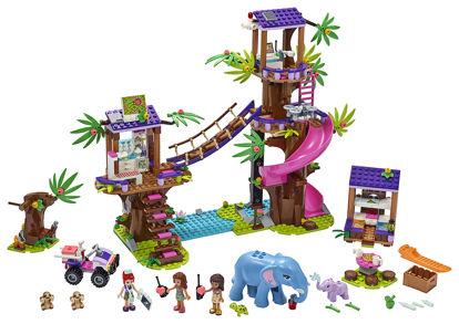 Obrázek LEGO Friends 41424 Základna záchranářů v džungli