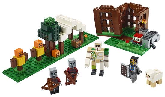 Obrázek z LEGO Minecraft 21159 Základna Pillagerů