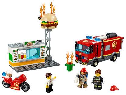 Obrázek LEGO City 60214 Záchrana burgrárny