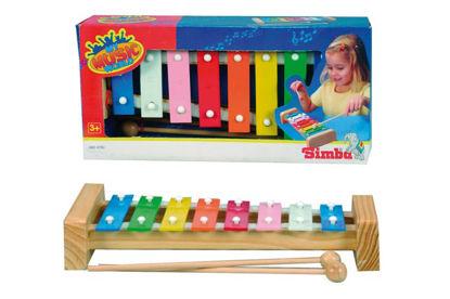 Obrázek Xylofon s  kovovými klávesami
