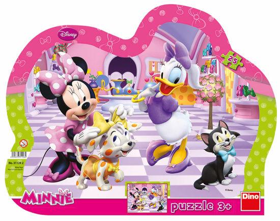 Obrázek z Puzzle  Minnie & Mazlíčci 25D