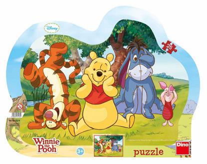 Obrázek Puzzle Schovávaná s Medvídkem Pú 25D