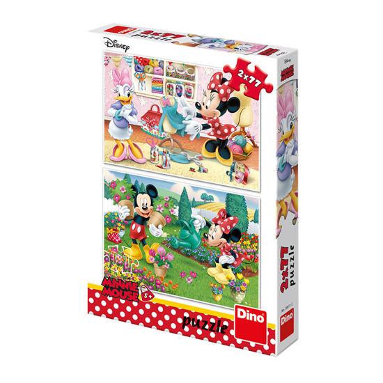Obrázek z Puzzle Pracovitá Minnie 2x77D