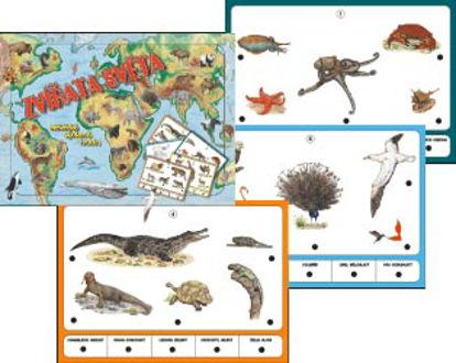Obrázek Výuková hračka Zvířata světa