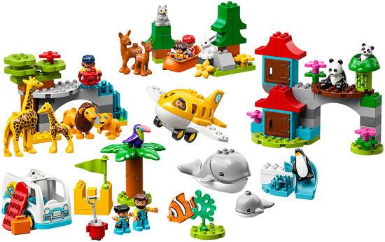 Obrázek z LEGO Duplo 10907 Zvířata světa