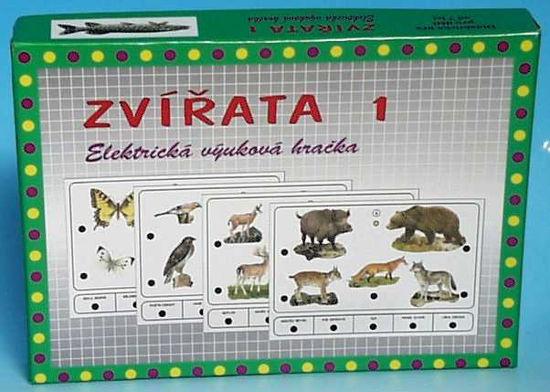 Obrázek z Výuková hračka Zvířata 1