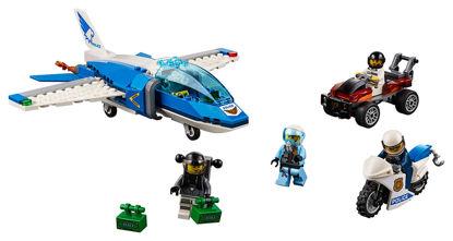 Obrázek LEGO City 60208 Zatčení zloděje s padákem