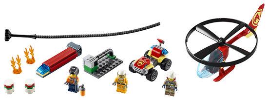 Obrázek z LEGO City 60248 Zásah hasičského vrtulníku