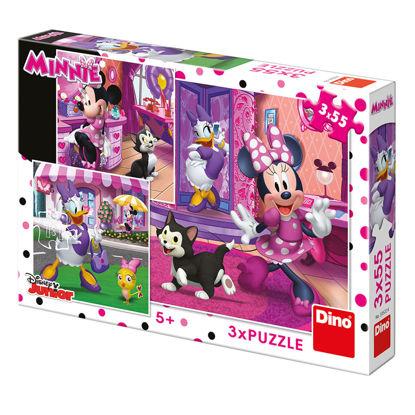 Obrázek Puzzle Den s Minnie 3x55dílků