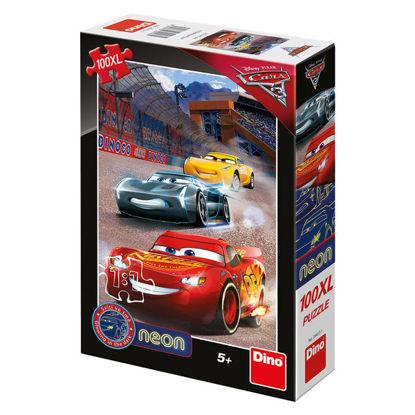 Obrázek Puzzle Cars3: Vítězné kolo 100XL neon