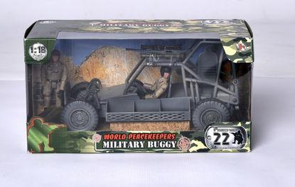 Obrázek Vojenské vozidlo plus  dva vojáci