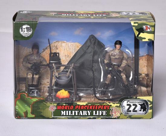 Obrázek z Vojenská sada s figurkou