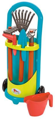 Obrázek Vozík a dětské zahradní nářadí