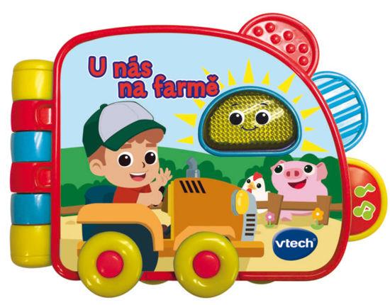 Obrázek z Vtech knížka - U nás na farmě CZ