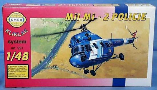 Obrázek z Stavebnice Vrtulník Mi 2 - Policie  1:48