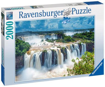 Obrázek Puzzle Vodopád 2000 dílků