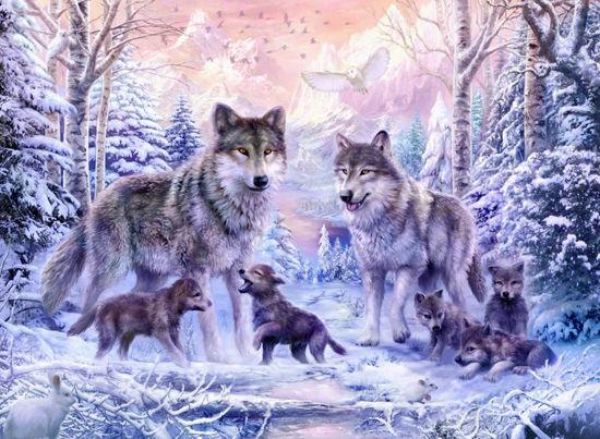 Obrázek z Puzzle Vlci 1000 dílků