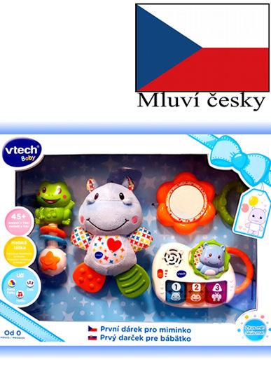 Obrázek z Vtech První dárek pro miminko (CZ) - modrý