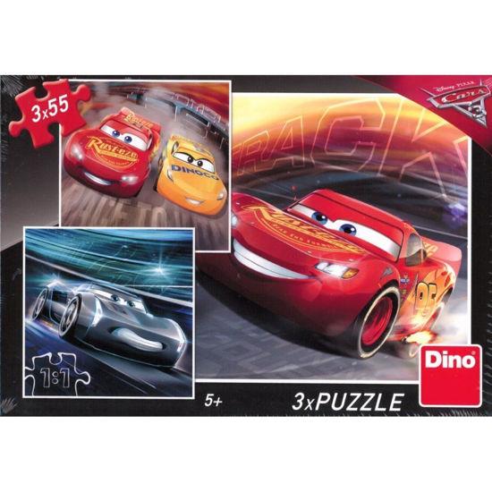 Obrázek z Puzzle Puzzle Cars 3: Trénink 3x55D