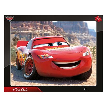 Obrázek Puzzle Cars: Blesk McQueen 40D deskové